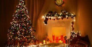 Sonhar com pisca-pisca de Natal